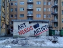 Art Needs Artists - Tallin 2012